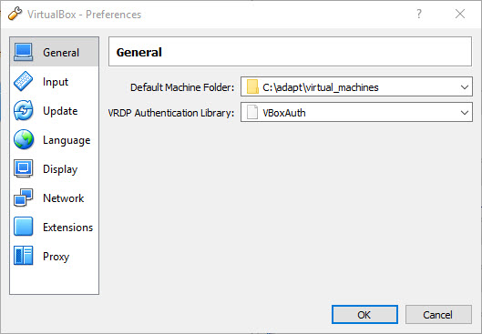 Specifying location of virtual machines